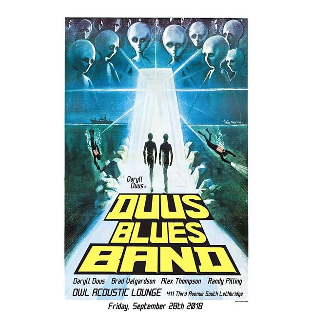 Friday, September 28th! The Duus Blues Band returns!