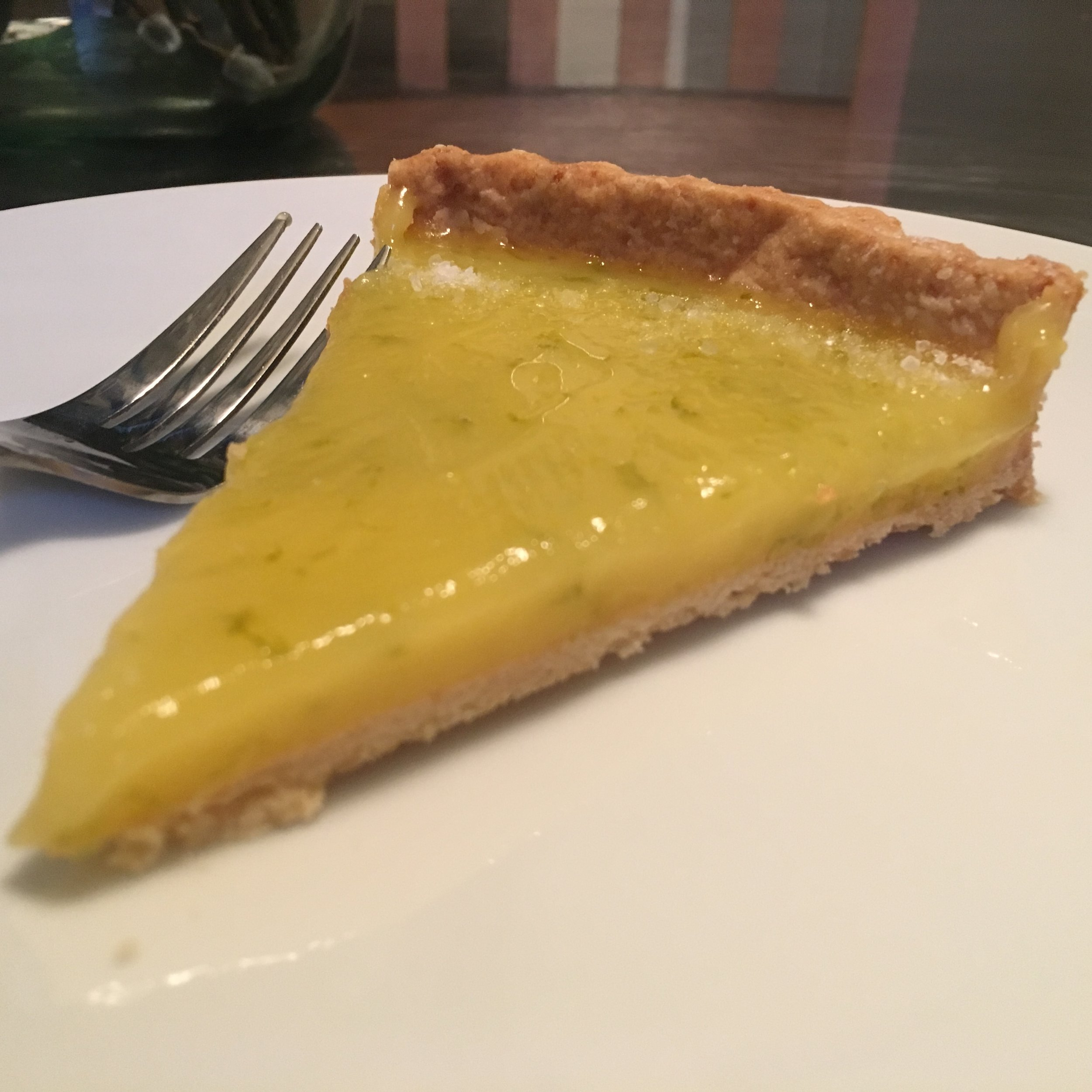 Slice of Margarita Tart