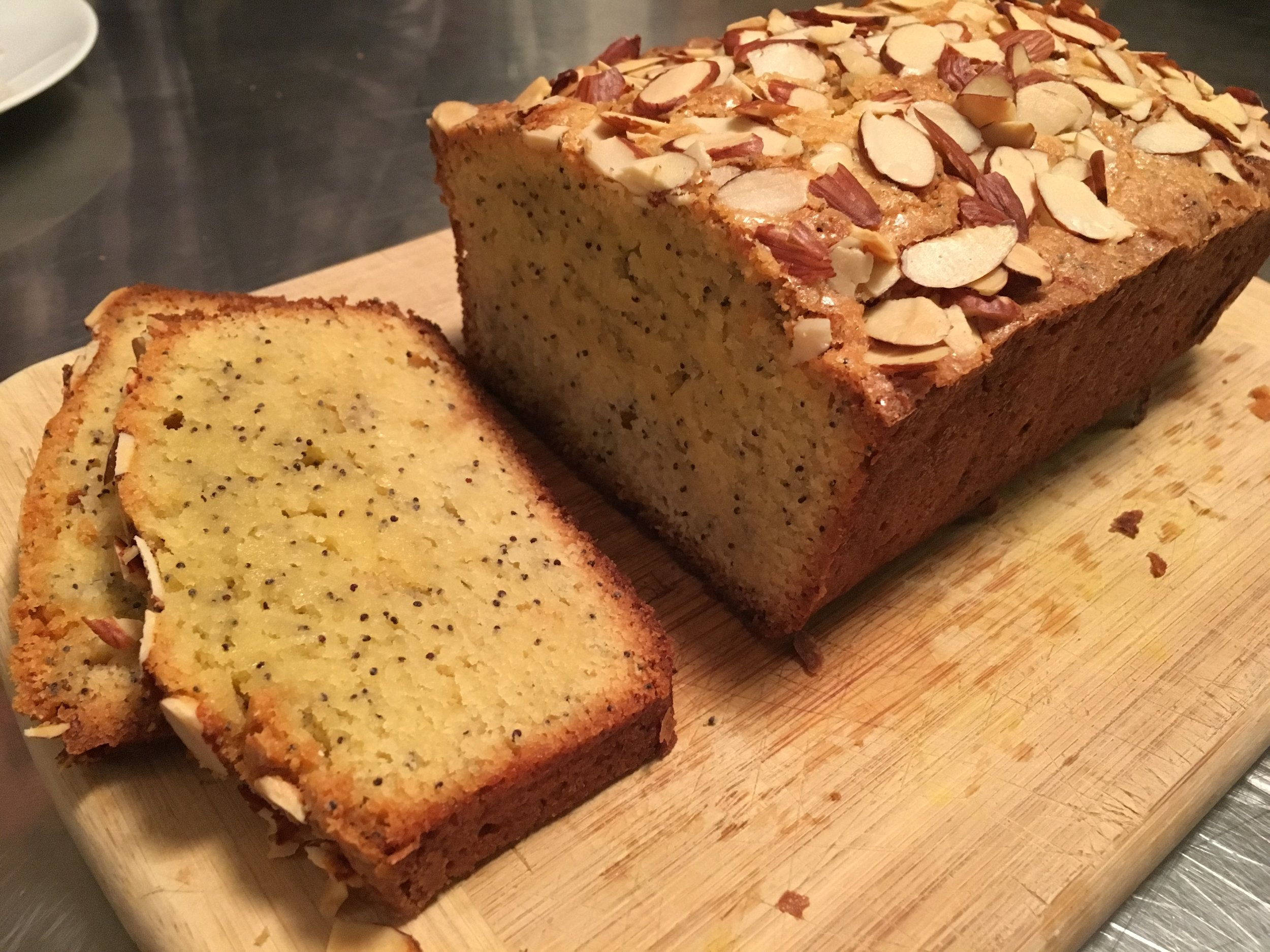 Almond Poppyseed Loaf
