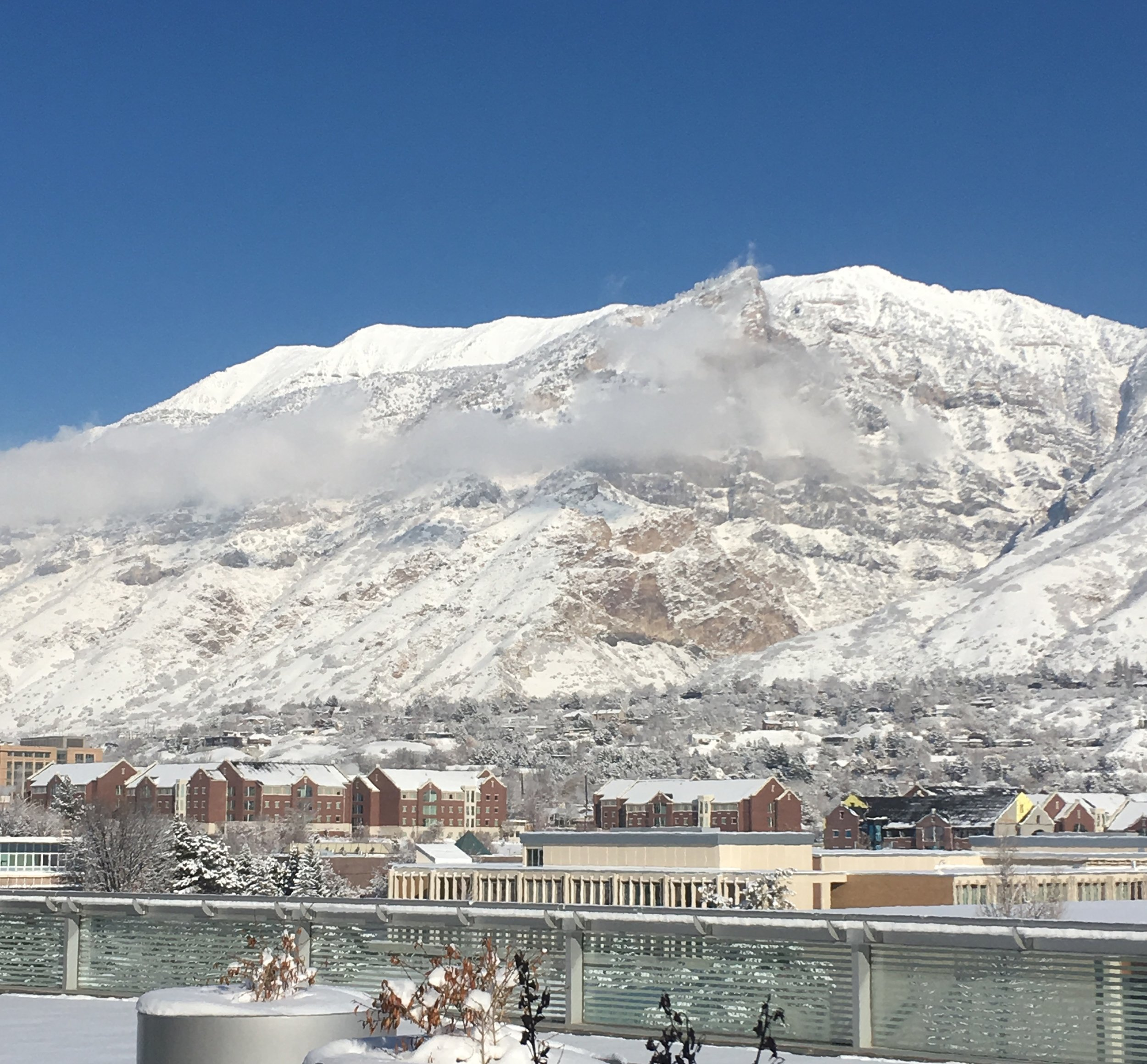 Provo, Utah - View from my cousin's office.
