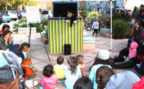 Caterpillar Puppet Show