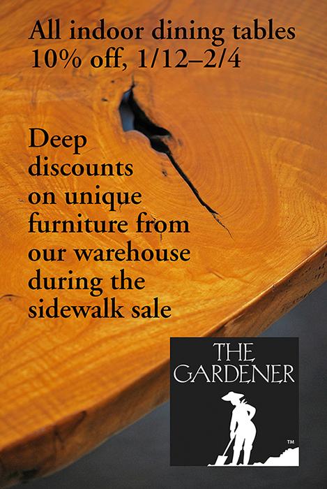 The Gardener furniture sale.jpg