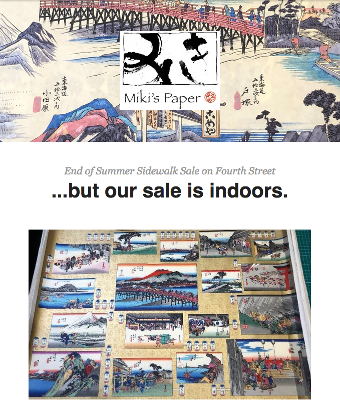 Sale at Miki's Paper, click on picture for more info