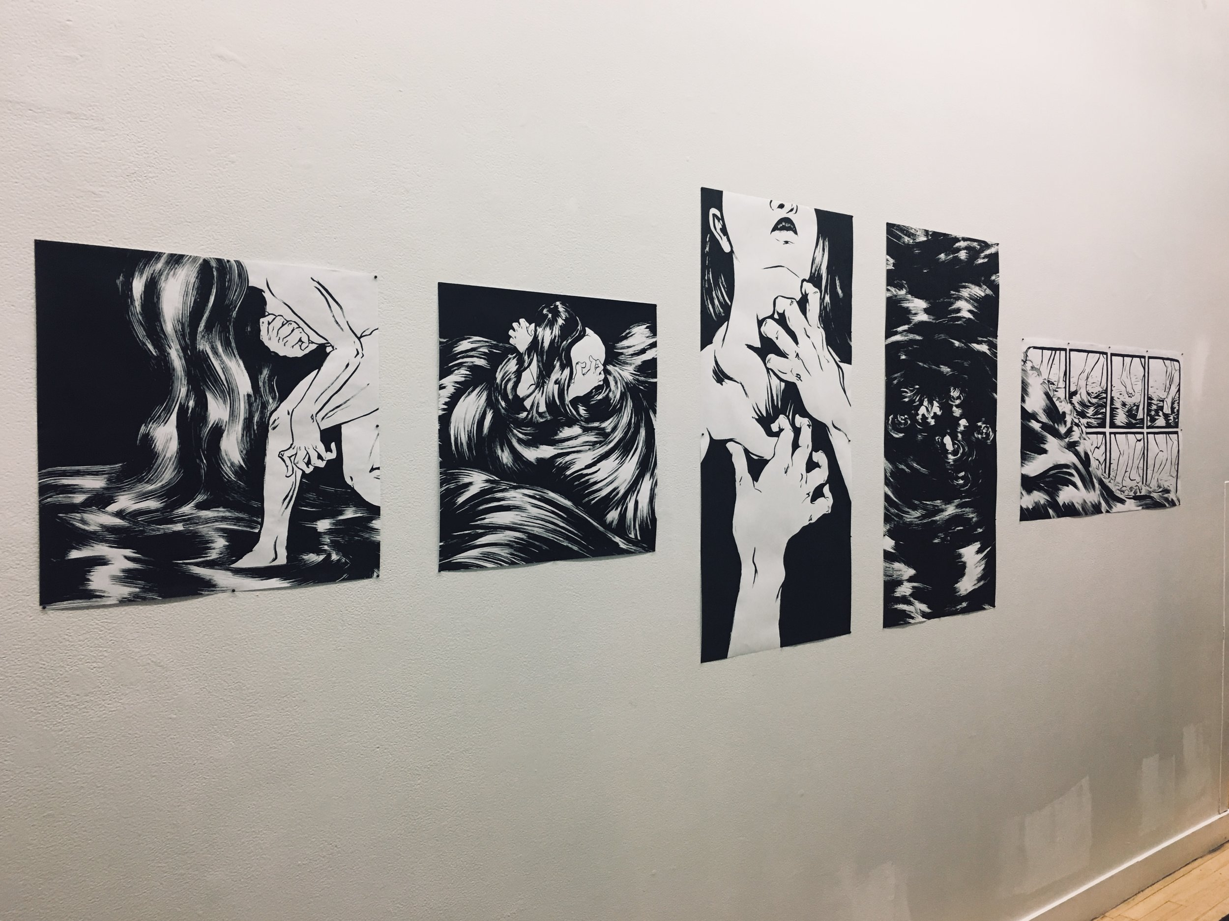 Prints, installation view