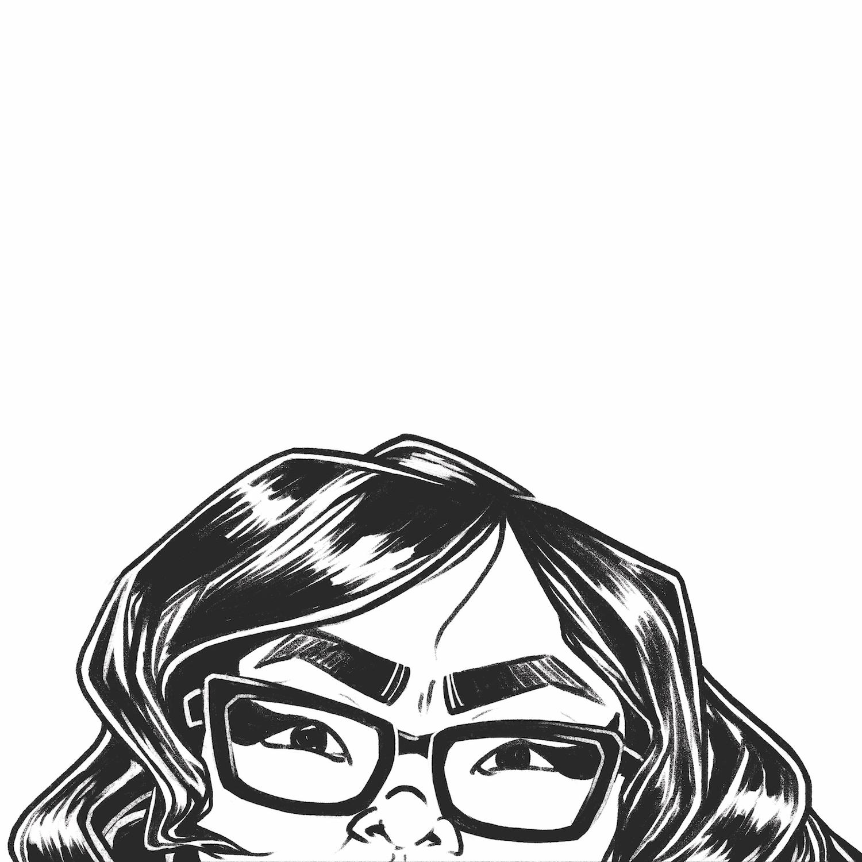 Self portrait, social media icon (2018)