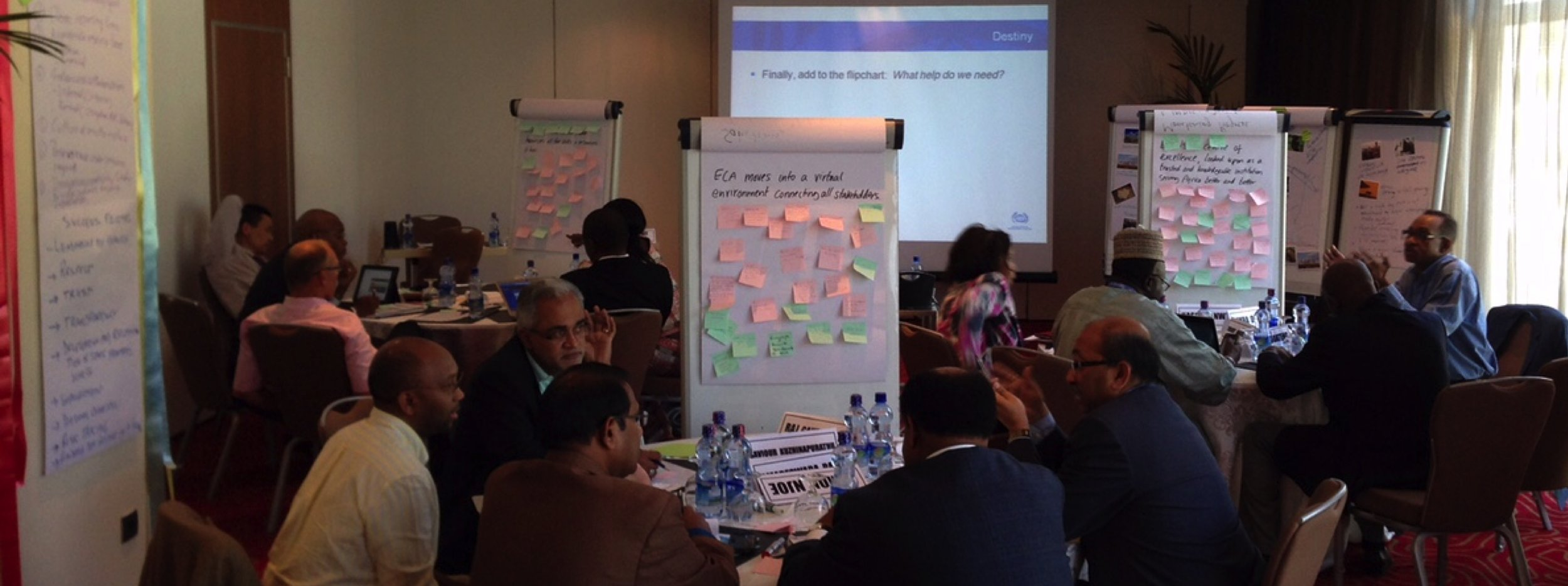 Appreciative Inquiry Facilitation with the United Nations
