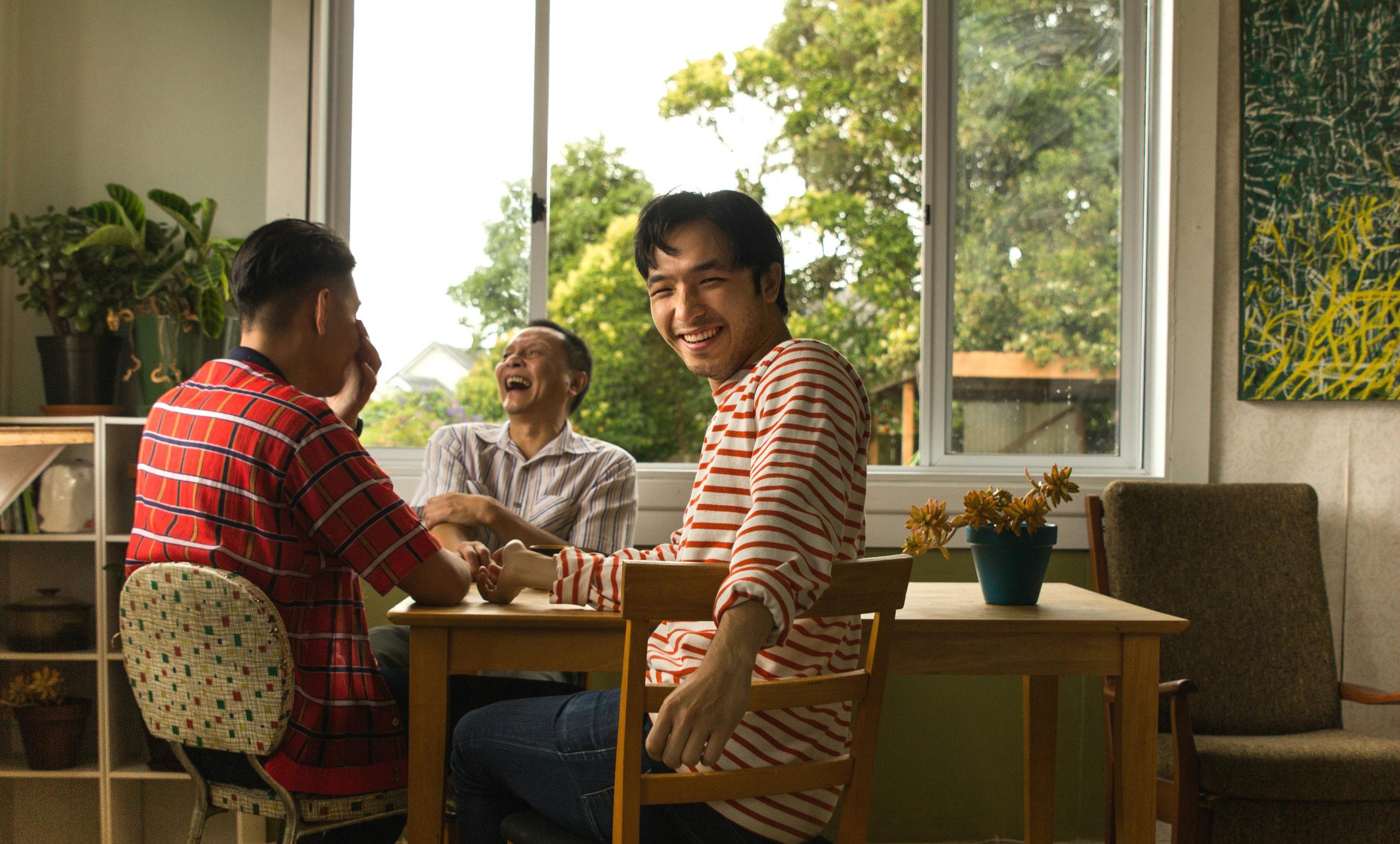 James, Han and Yoson share their experiences