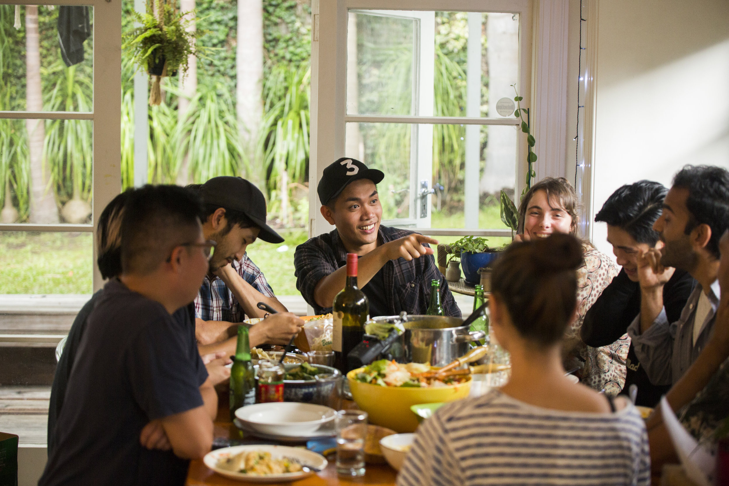 Asian Men Talk About Sex kicks off with a casual pot-luck hosted by the team