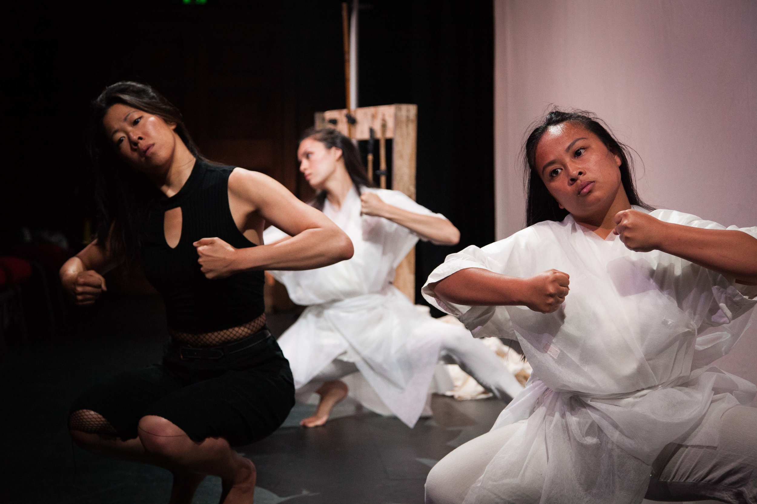 Nikita Tu-Bryant, Chye-Ling Huang and Marianne Infante