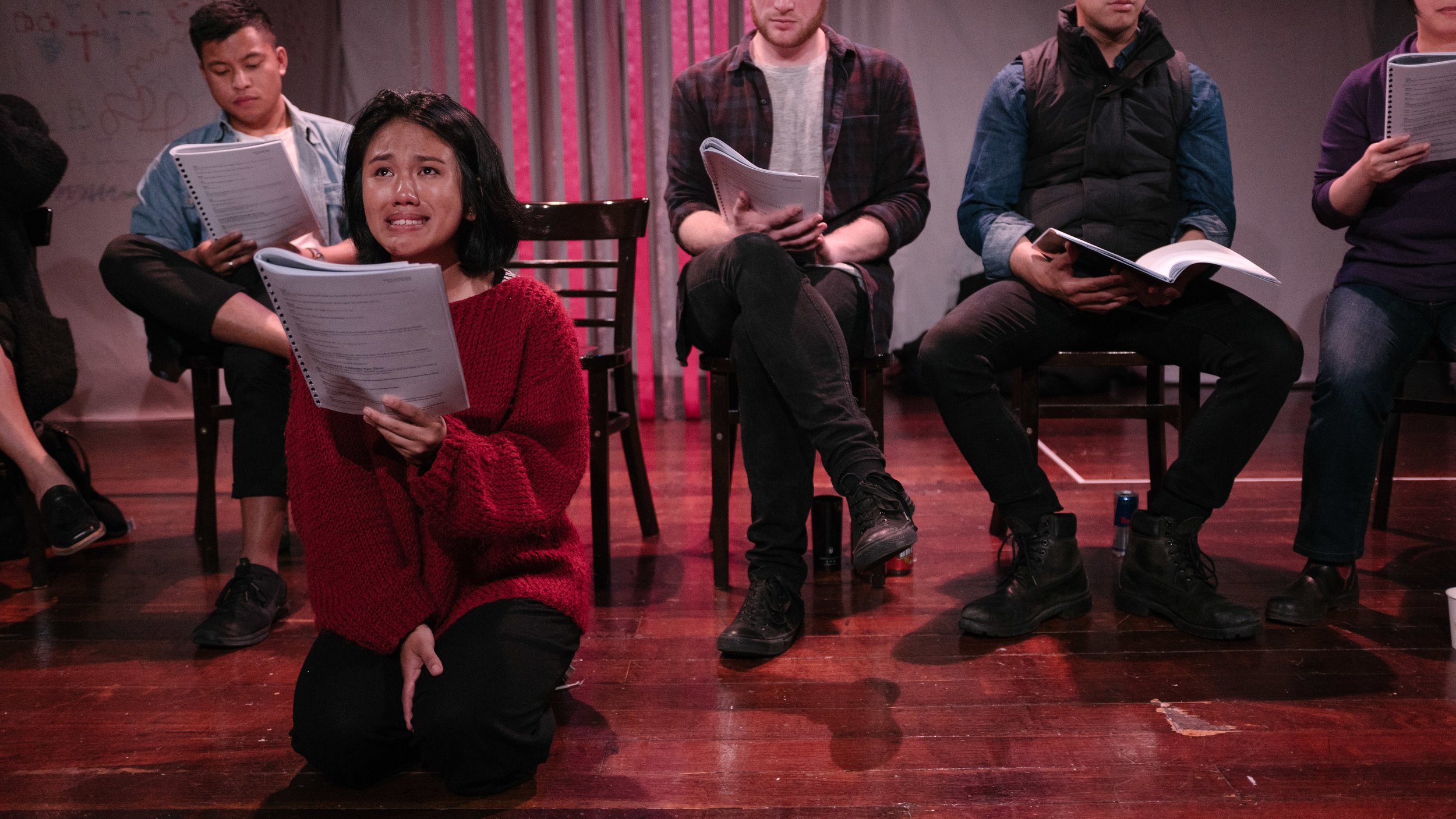 PINAY live development reading 2018. Photo: John Rata
