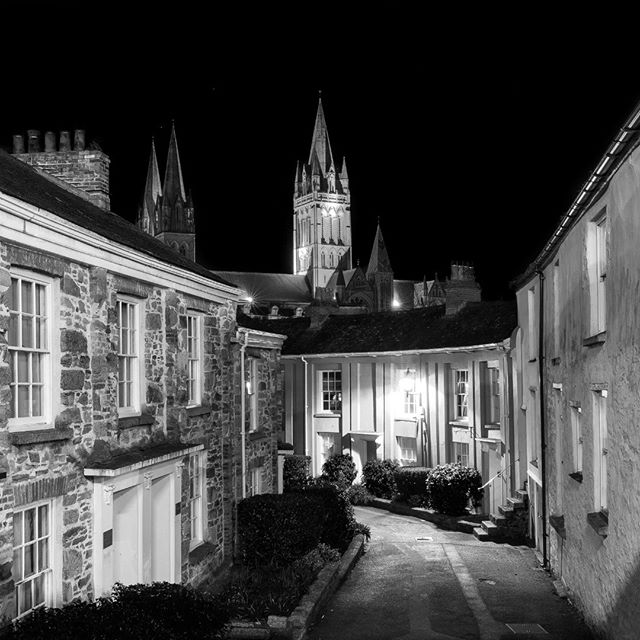 Been so busy during the day with sessions and editing lately that a late night walk around #Truro #Cornwall is perfect for clearing the head and finding inspiration.
