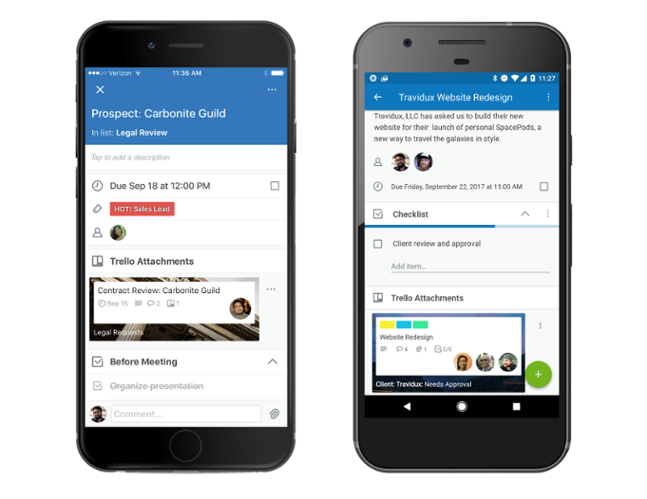 The difference between Trello on iPhones vs Android meant what took staff 3 seconds to do on iPhone took 20+ on Android. We needed to find a solution to ensure the new system's success at Haury's.  Image credit: Trello