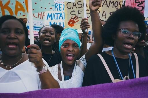 Imagem: Fradique, Novembro 2017 (c)Marcha de Repúdio à Violência Contra a Mulher