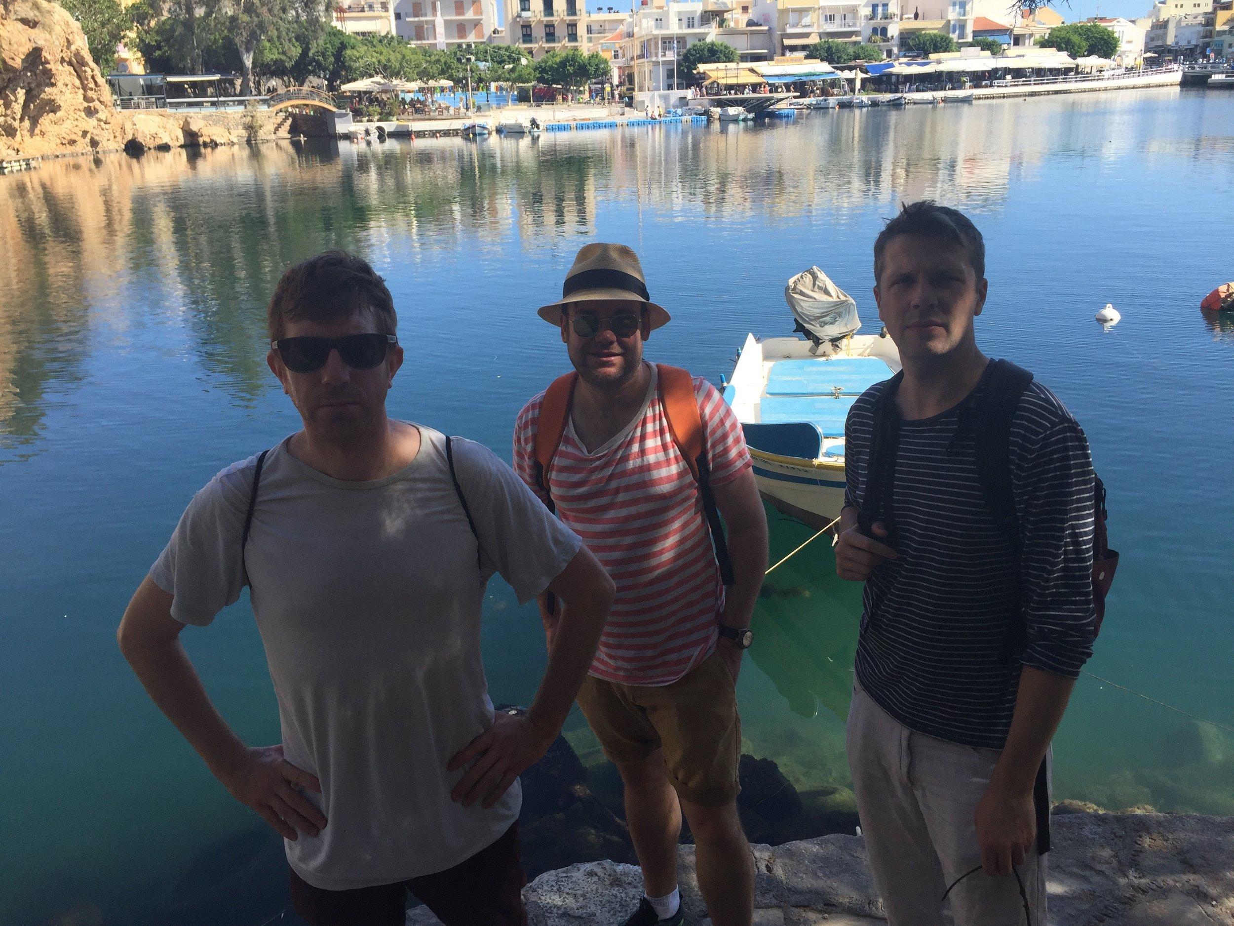 Adam, Chris and Jes have gone a little bit Ocean Colour Scene...