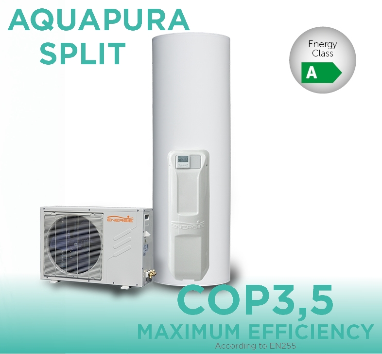 CLASSIC SPLIT UNIT AIR-TO-WATER SYSTEM -