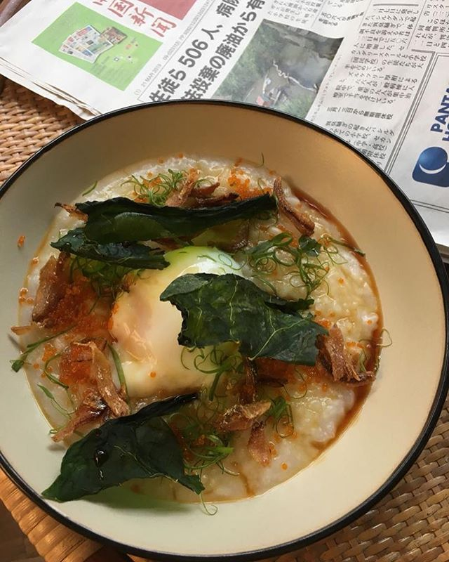 A house favourite is making a comeback this weekend! It's the Ikan Bilis Congee but with a little upgrade – think Japanese rice and tobiko. Limited portions are available for the day, so come quickly!