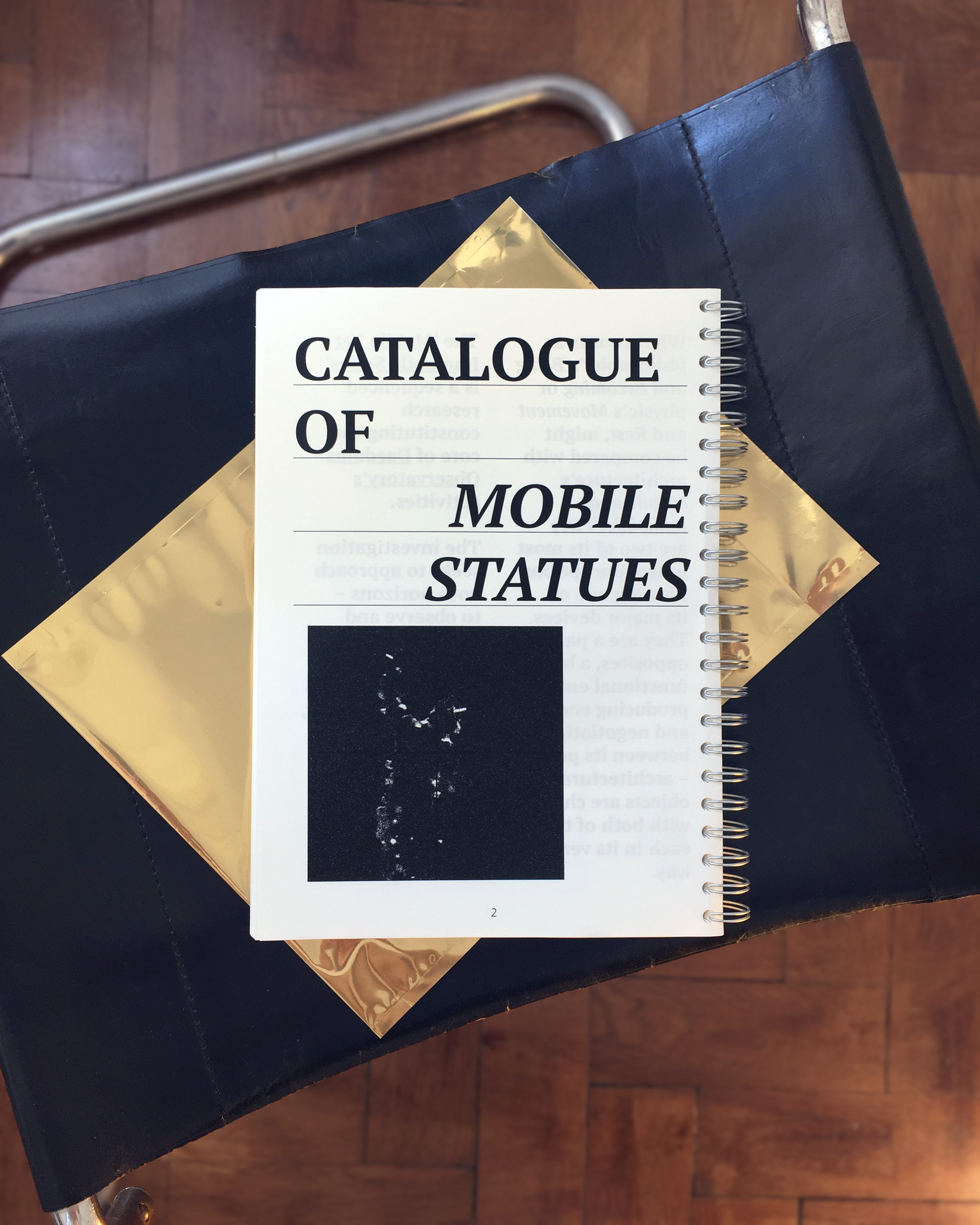 Daedalus Observatory's second volume in the Mobile Yet Immobile Series is out now!  Have a look:  http://www.attp.tuwien.ac.at/mobile-yet-immobile