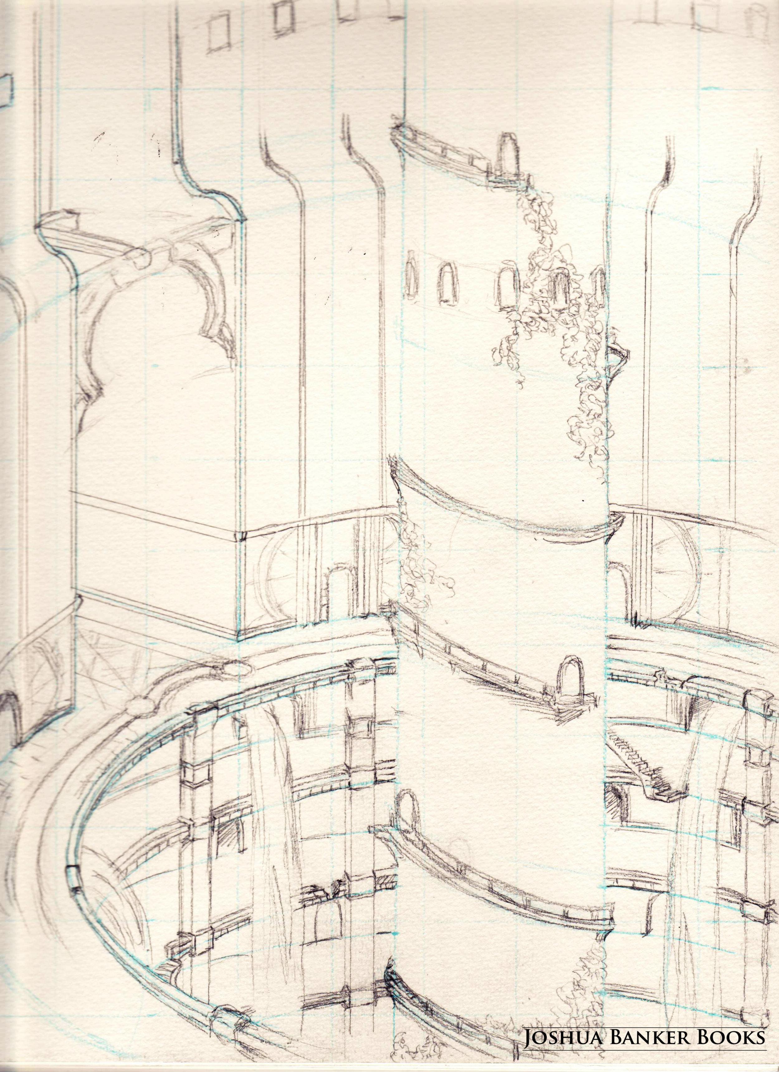 Stairwell Interior (sketch)