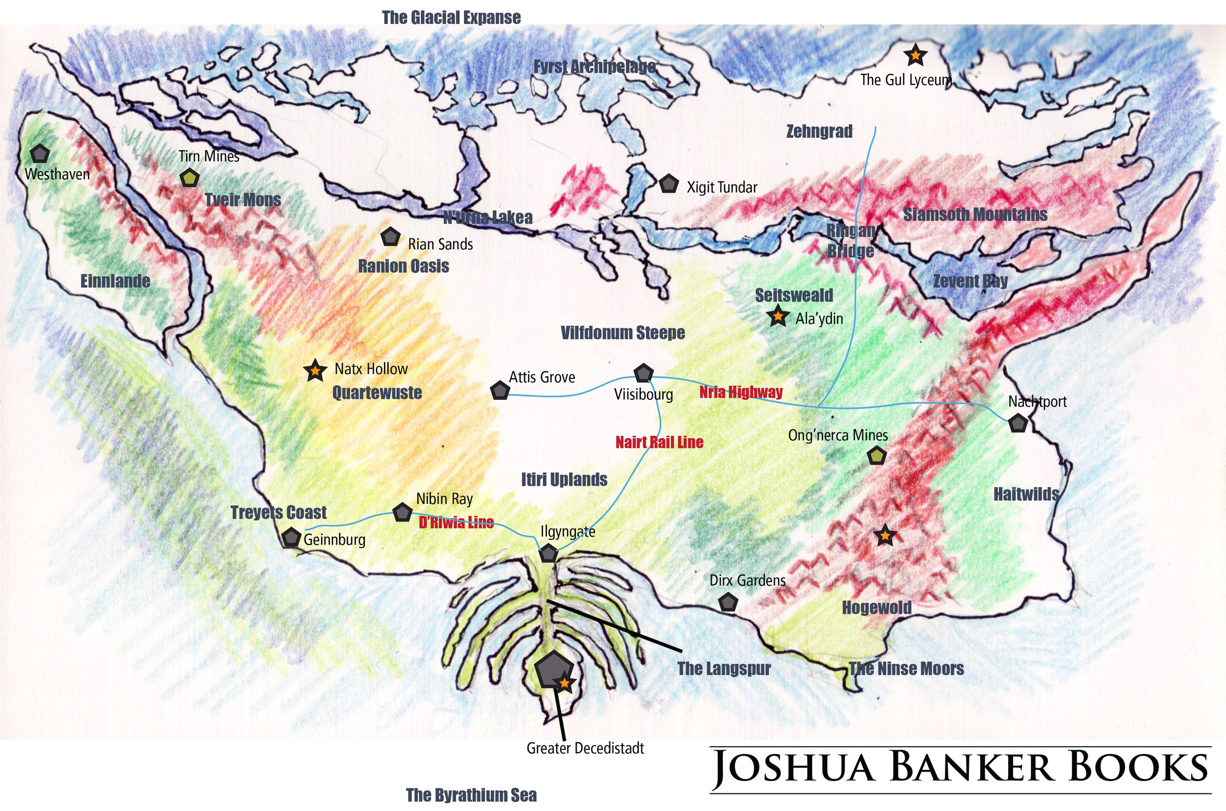 Fifth Era Map (Original)