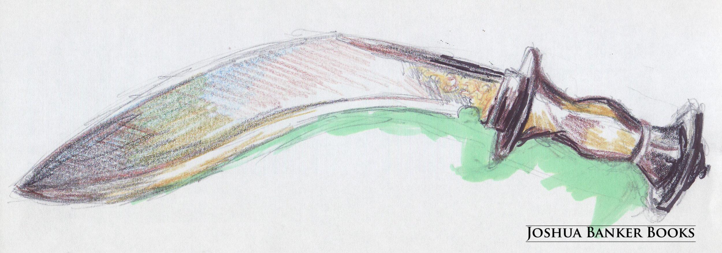 Raw Sketch: Apello's Khukuri