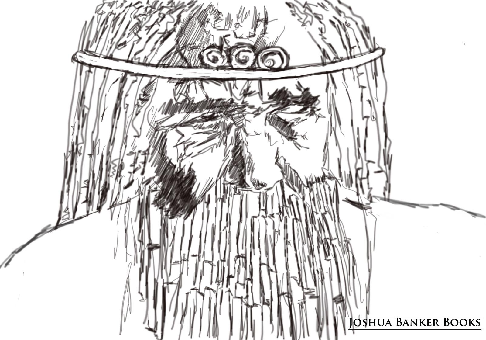 Sketch: Stone Monarch (line)