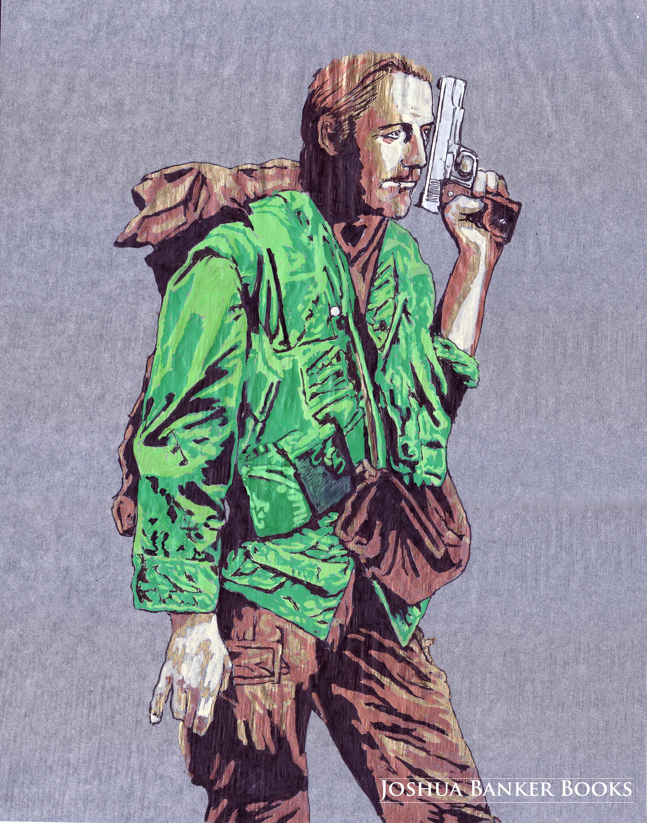 Character Illustration: Marianus O'mas