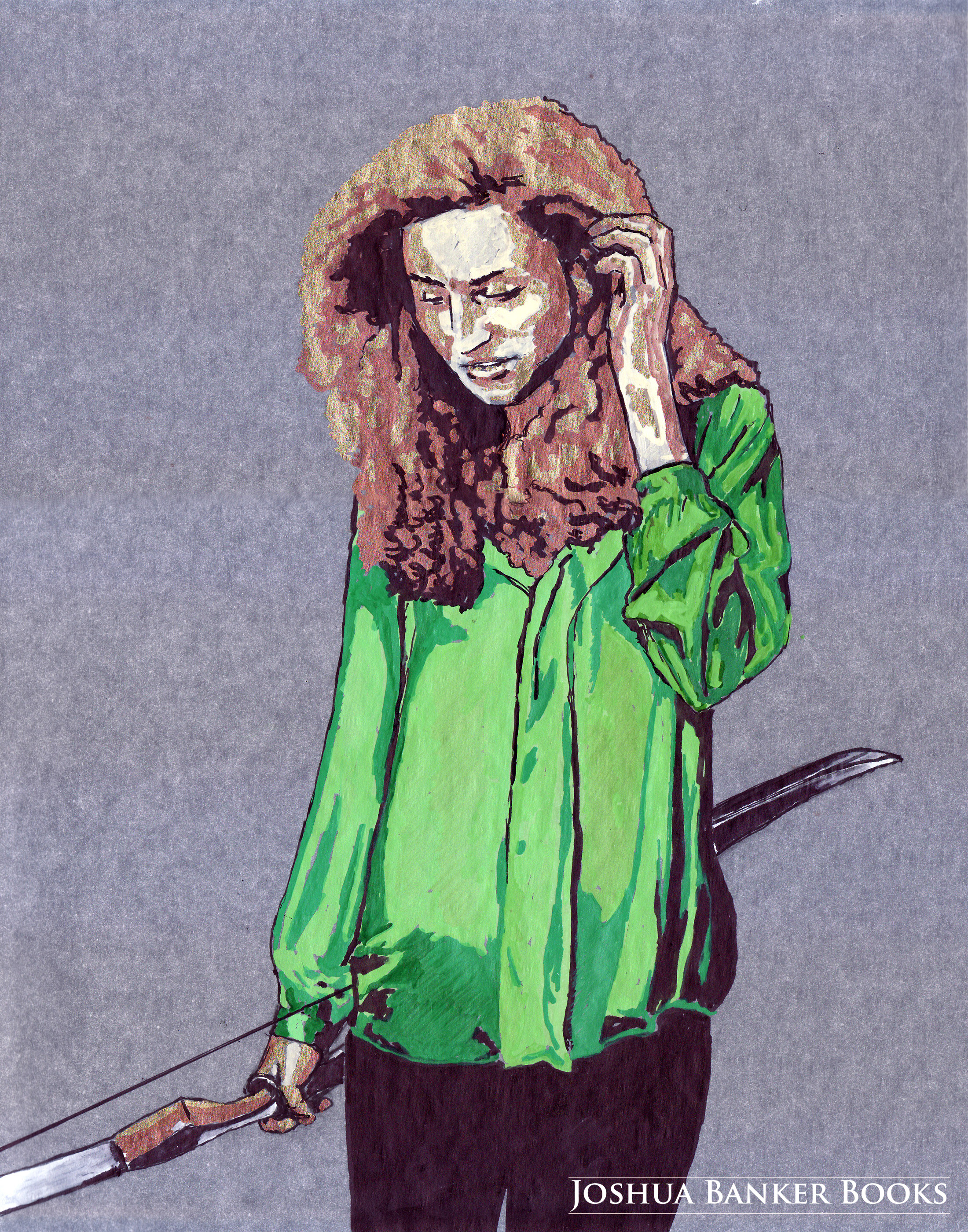 Character Illustration: Callie Evans