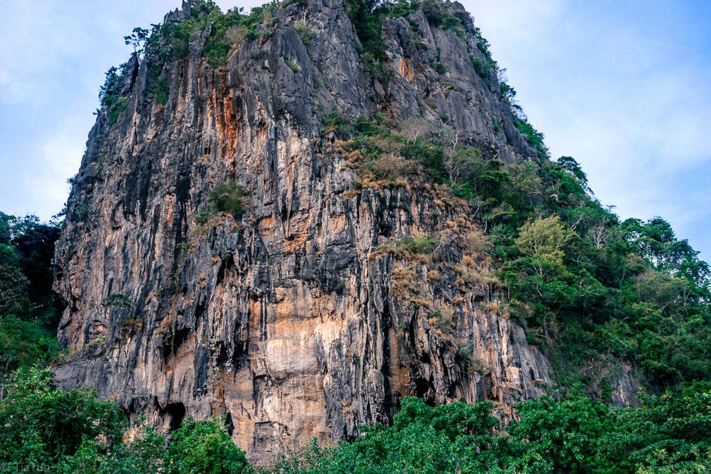 Massive rocks are all around Railay