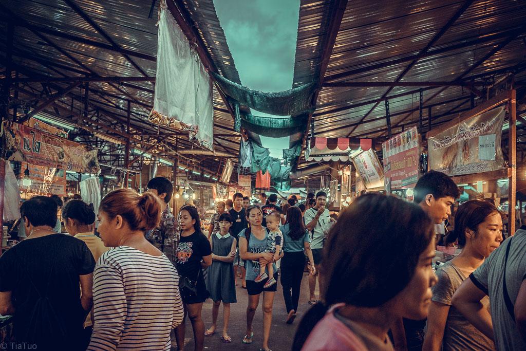 People at Phuket Night Market