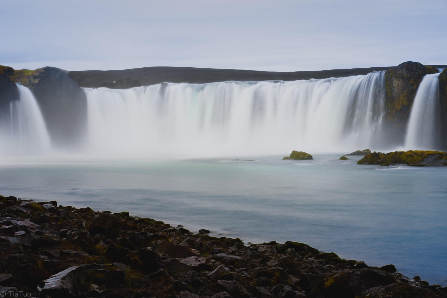 Goðafoss in the morning