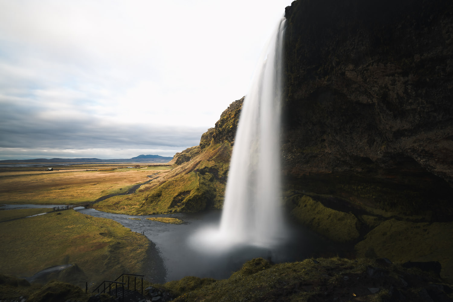 Seljalandsfoss snapped by @snapzak using perfect timing, composition, and magic to remove all the people