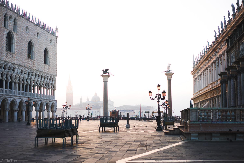 Empty Piazza San Marco