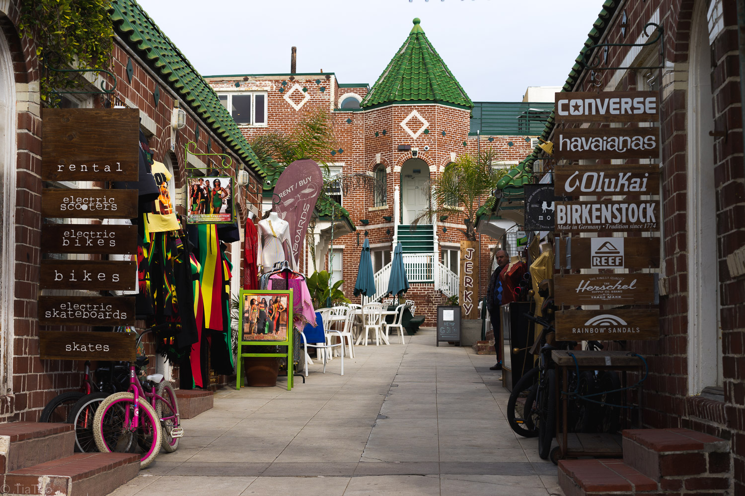 Quirky shops in Venice