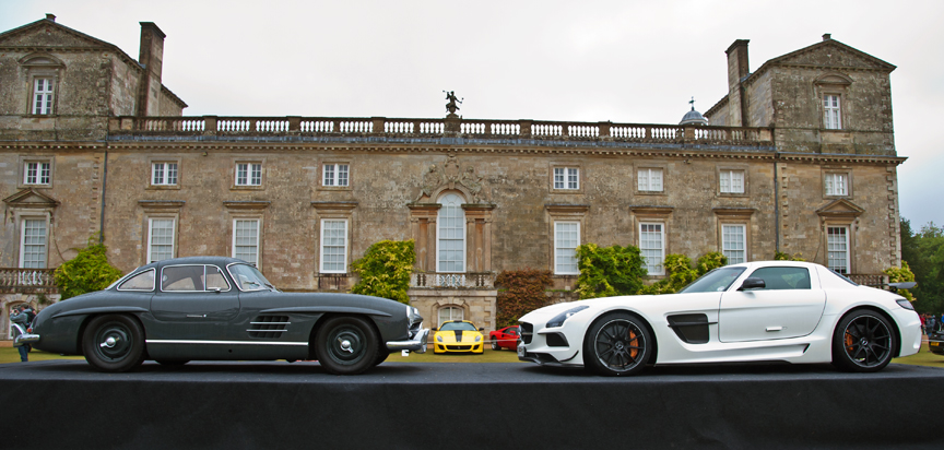 Stella Scordellis Mercedes 300 SL Gullwing and SLS AMG