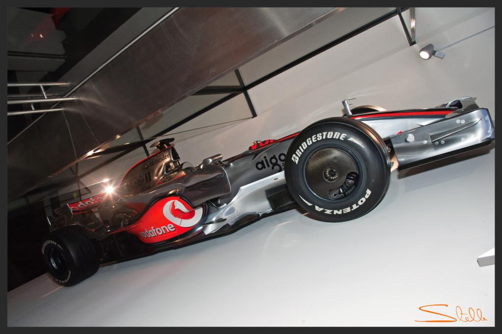 Stella Scordellis REdline247 McLaren 5