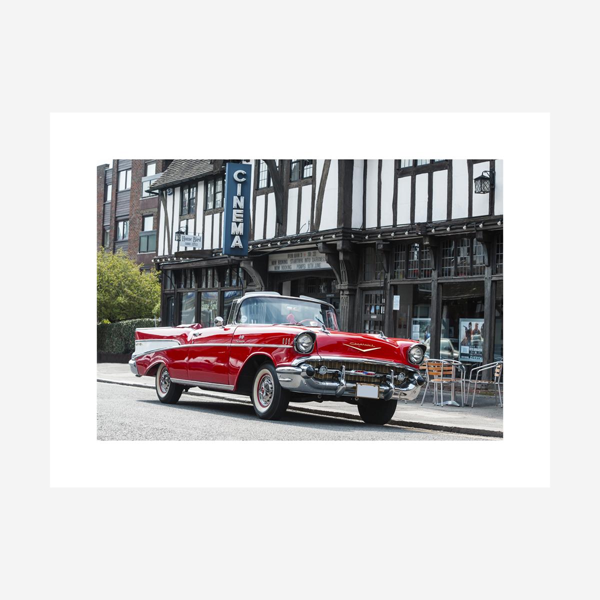 "Chevrolet Bel Air Convertible 32"" x 24"""