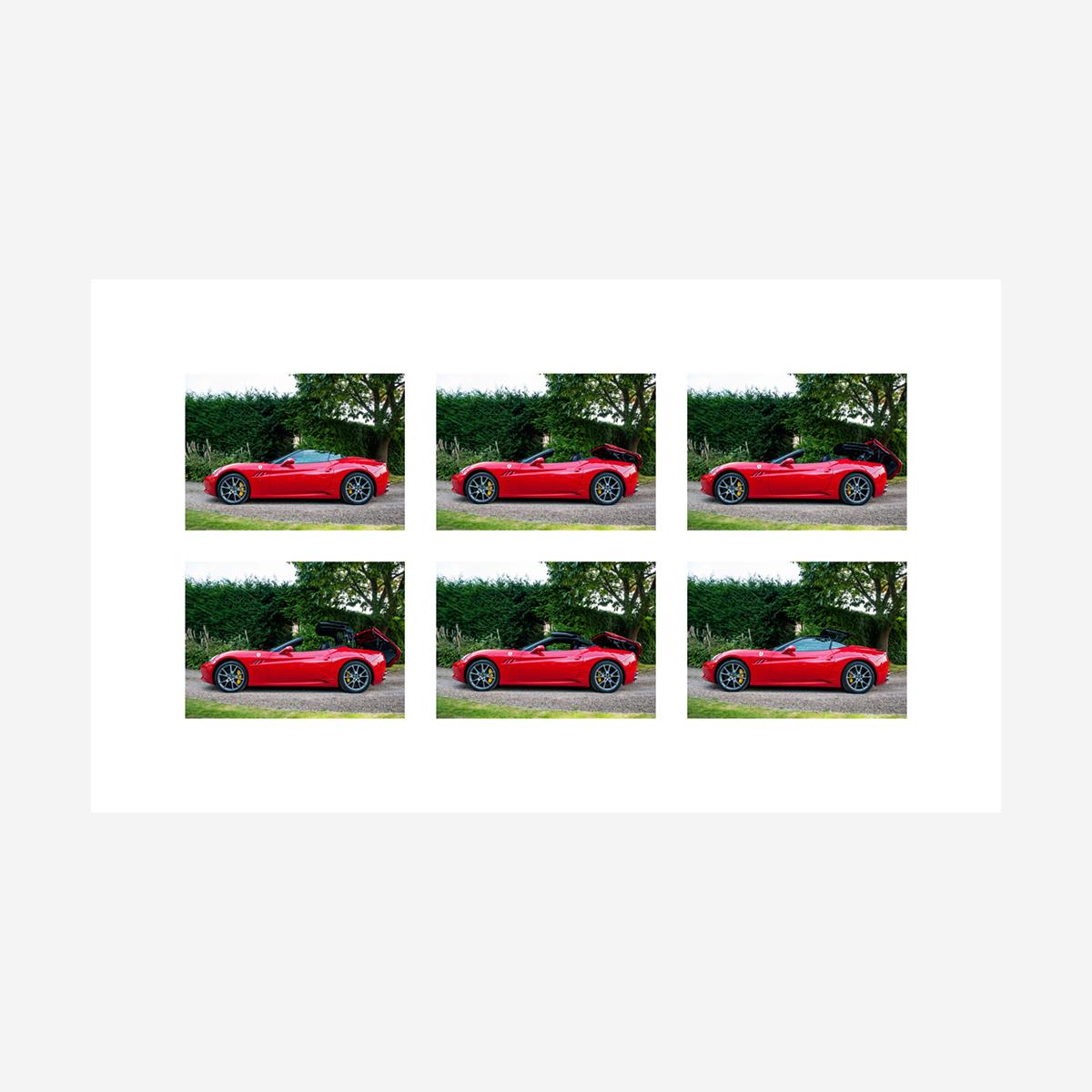 """Ferrari California 29"""" x 17"""""""