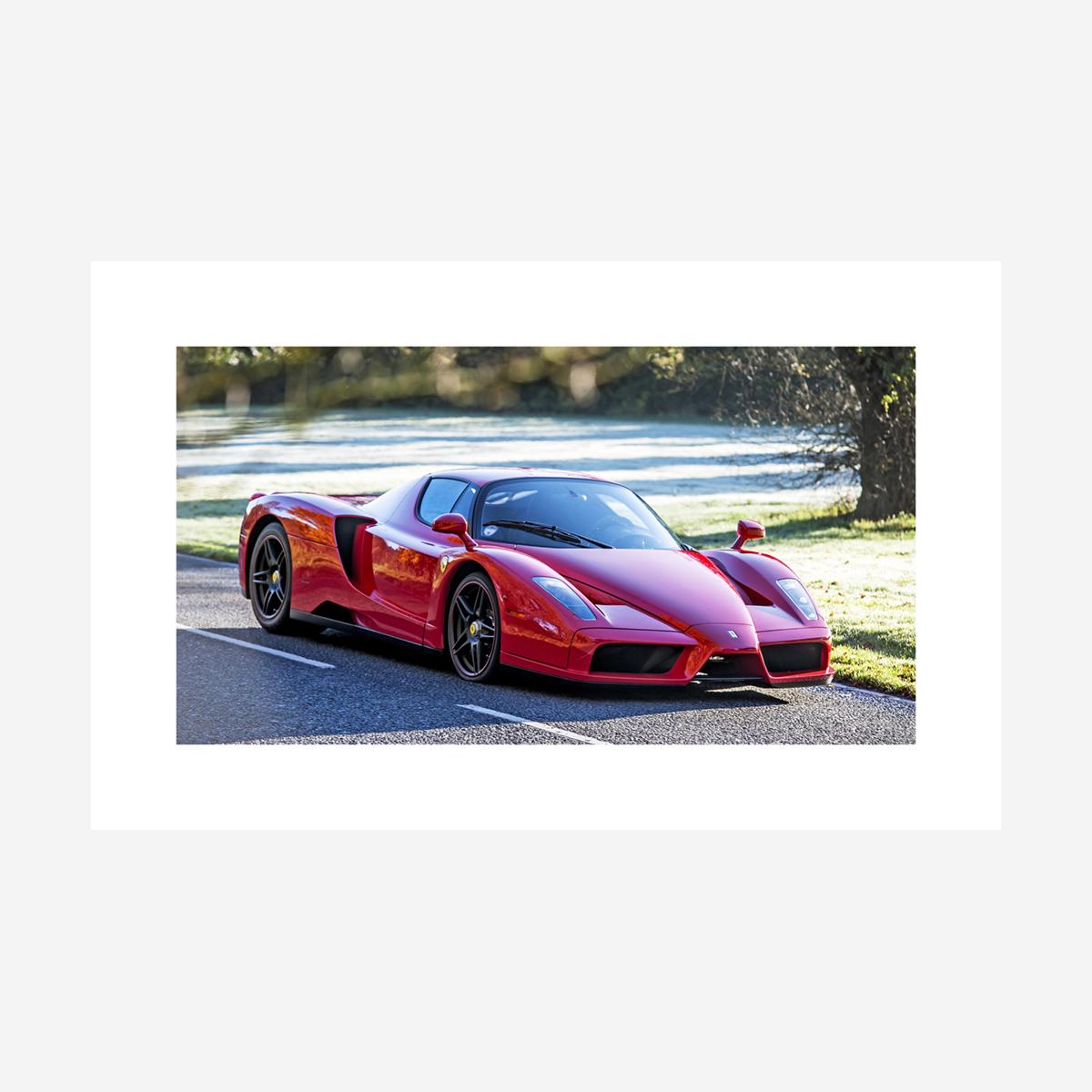 """Ferrari Enzo 32"""" x 20"""""""