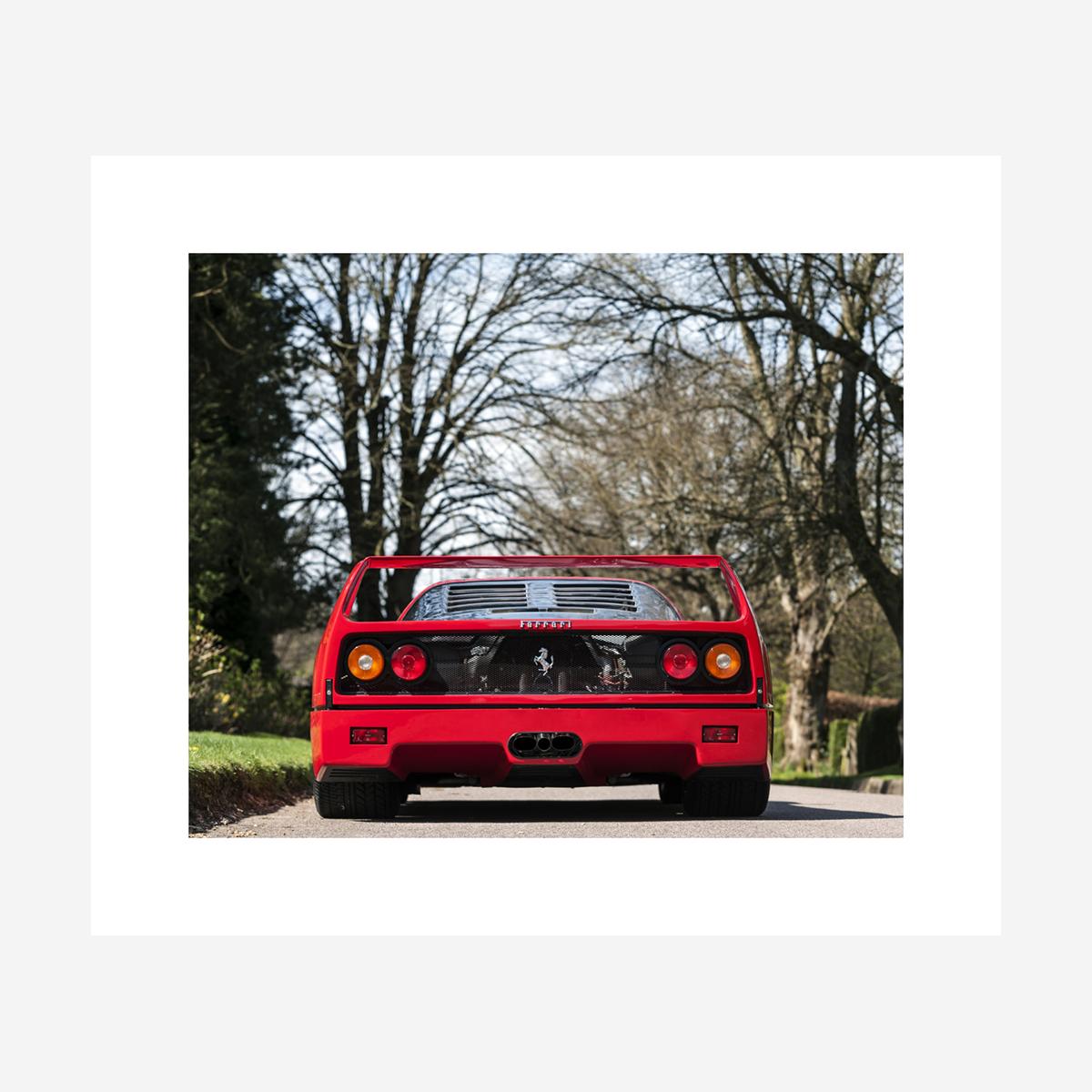 """Ferrari F40 28"""" x 24"""""""