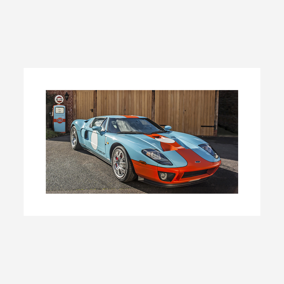 """Ford GT 32"""" x 20"""""""