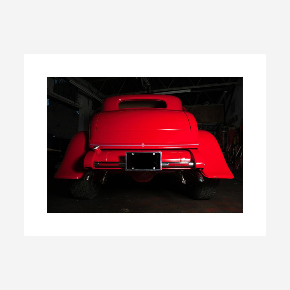 """Ford Hotrod Rear 32"""" x 24"""""""
