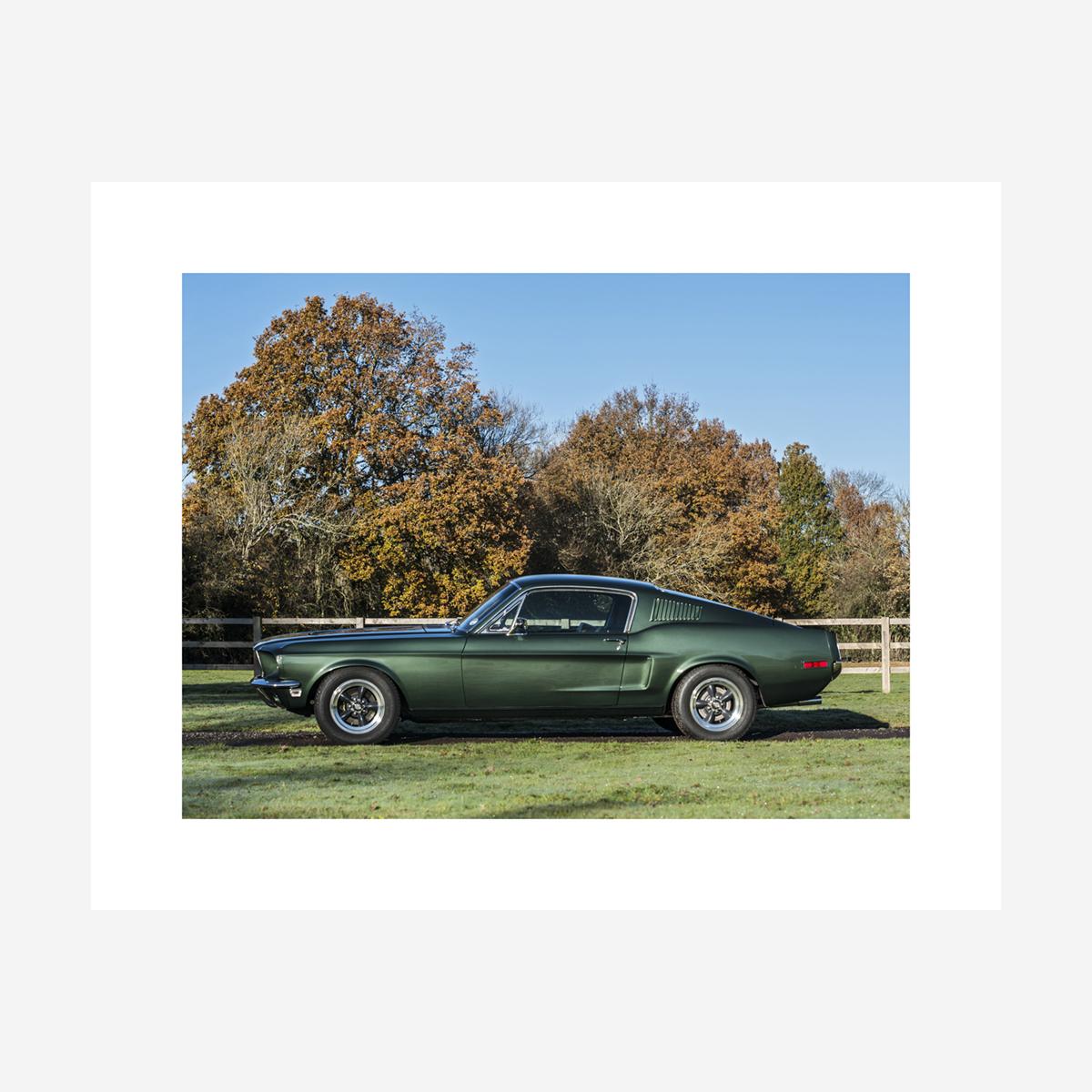 """Ford Mustang """"Bullitt"""" 30"""" x 24"""""""