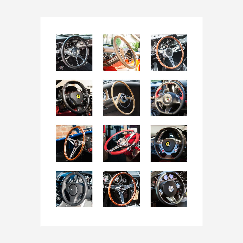 """Steering Wheels 29"""" x 23"""""""