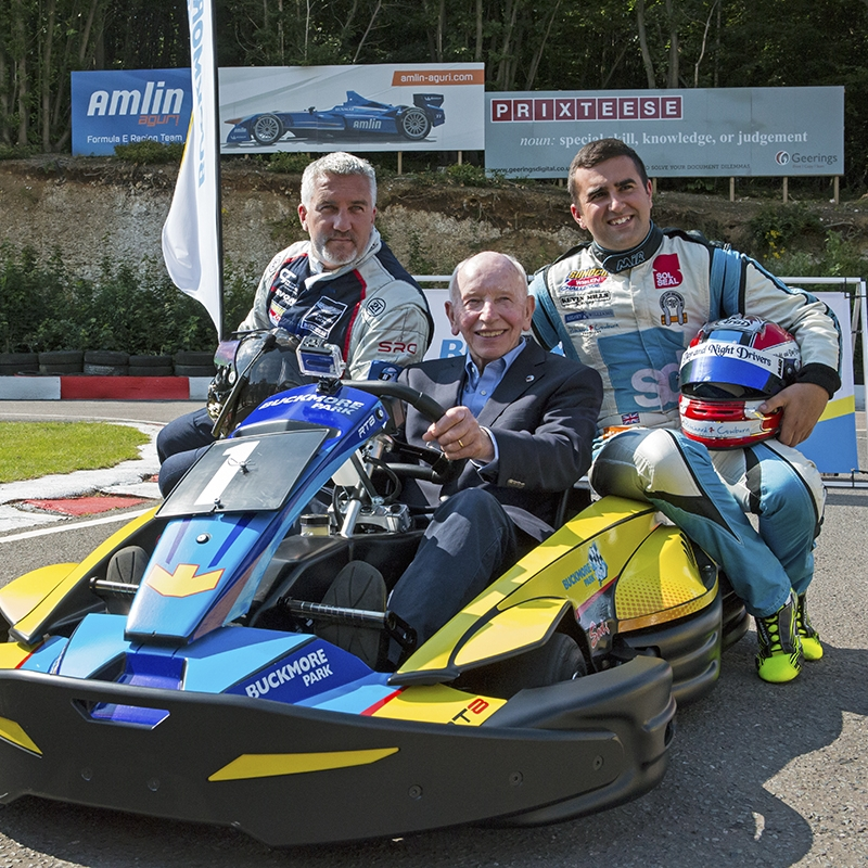 Buckmore Park Launch with John Surtees OBE and Paul Hollywood