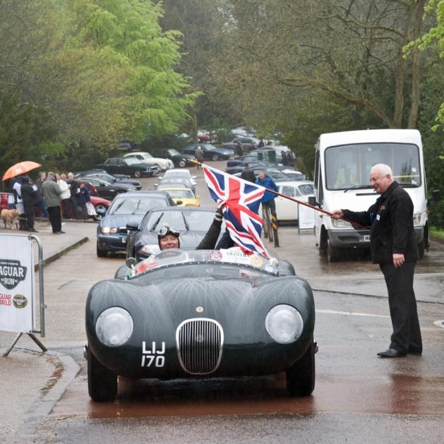 London-Brighton Jaguar Car Run