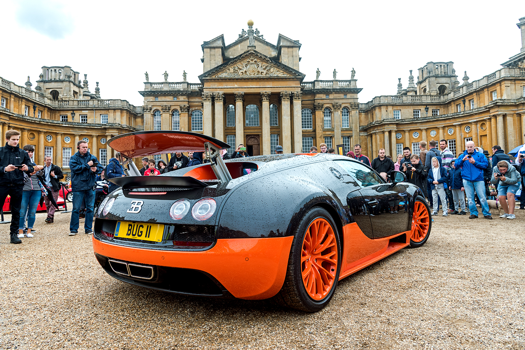Blenheim Palace Classic & Supercar Show 2017