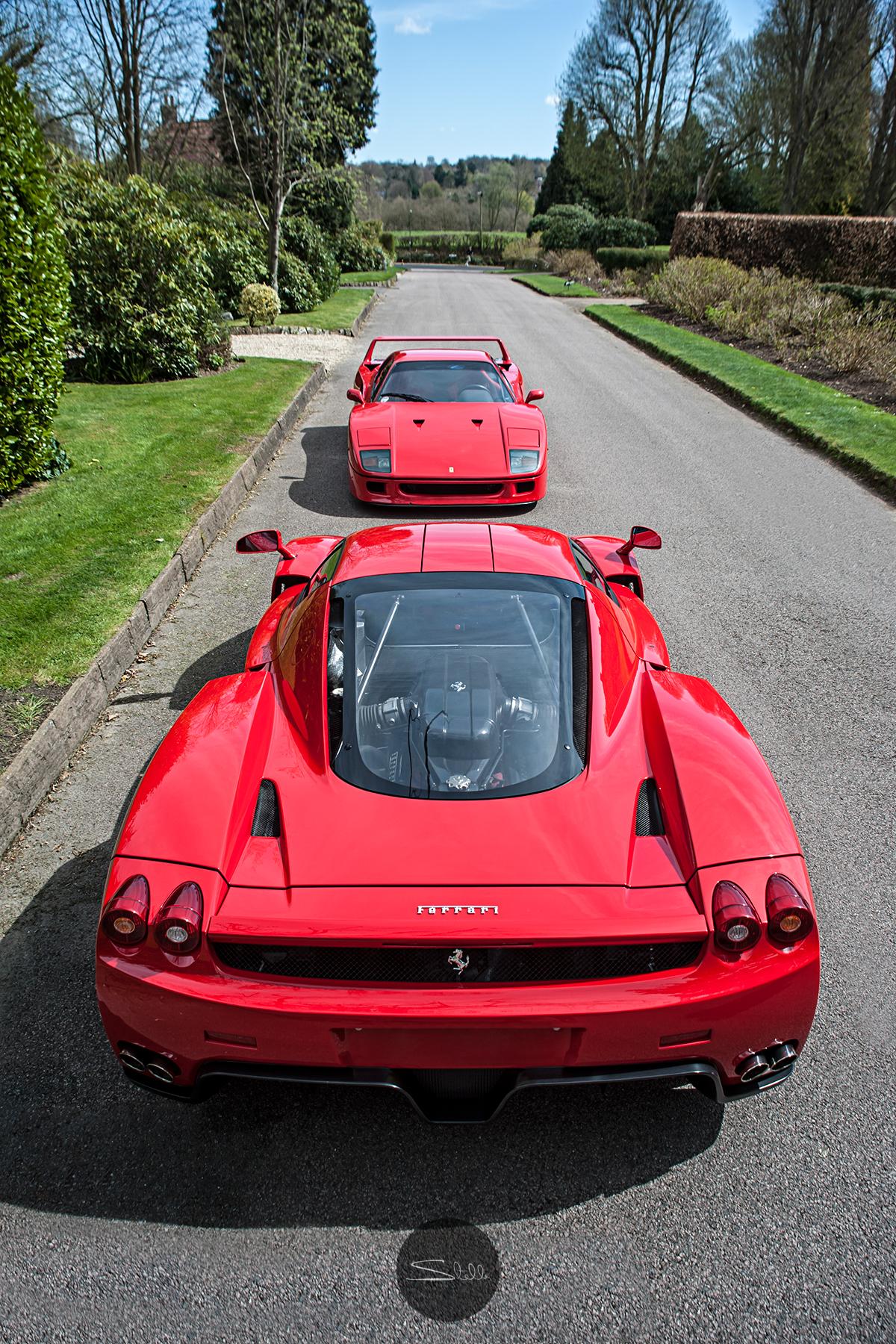 Stella Scordellis Ferrari Enzo & Ferrari F40 Watermarked.jpg