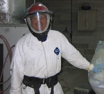 When needed our technicians utilize the cutting edge in technology for safety. We are equipped with state of the art, battery powered respirators ensuring zero exposure to hazardous materials. The 3M CB1000 units are the best in the industry and County Corvette is the first and only Corvette facility to utilize this technology.