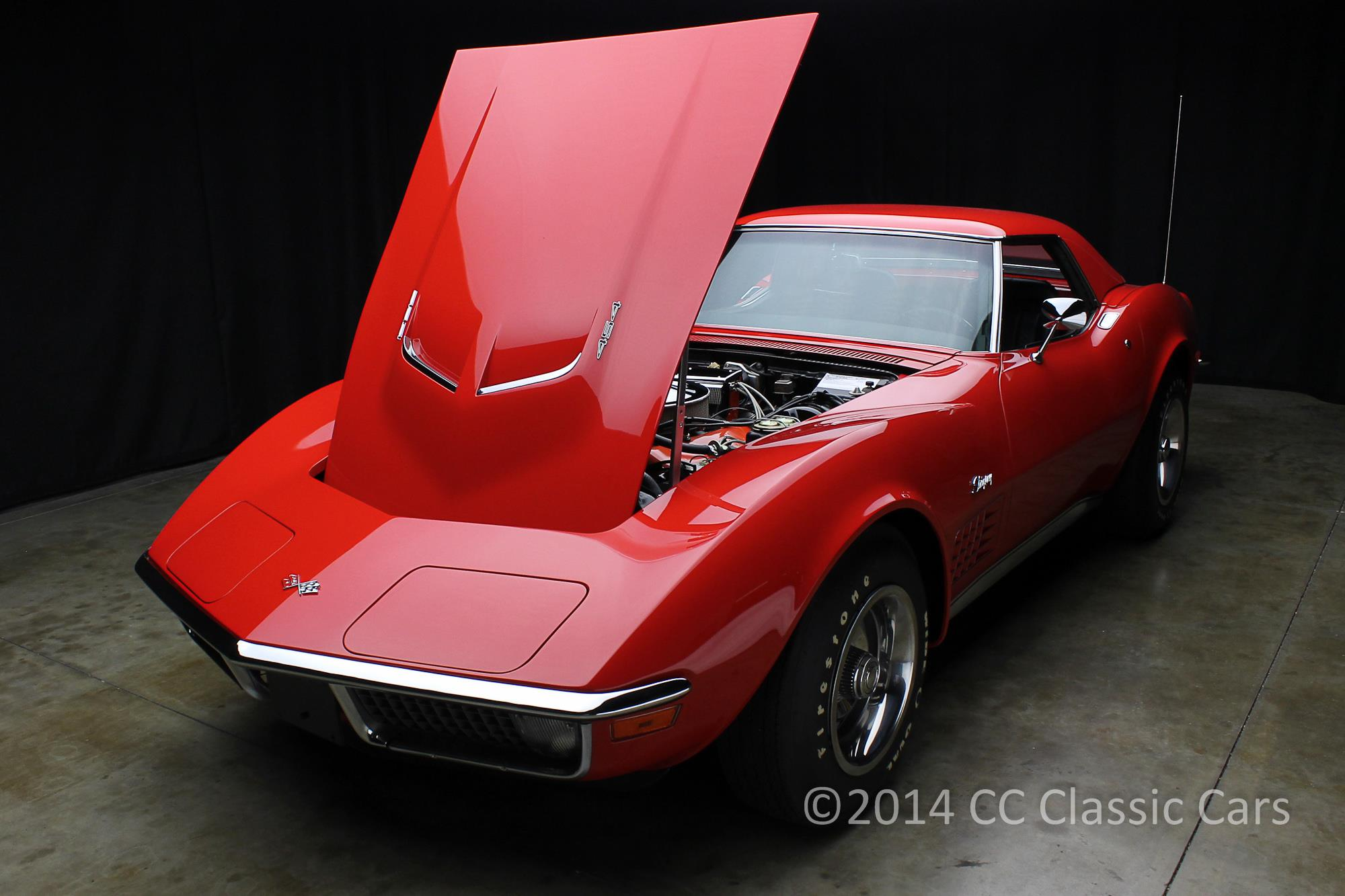 Here is a 1971 LS6 that we restored over 10 years ago. The paint has not been re polished since yet it remains in perfect condition. This is the highest end Concours finish we offer and will stop every passerby at every event it enters for decades to come. When you want it done right County Corvette is your best choice.