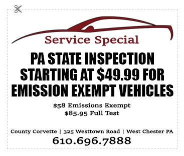 corvette-service-PA-state-inspection.jpg